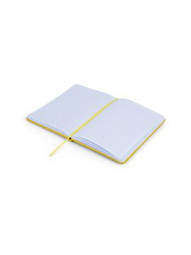 Cuaderno Libreta Saturno Tapa Dura PVC - Gris