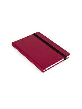 Cuaderno Libreta Decision Cubierta Dura A7 - Rojo