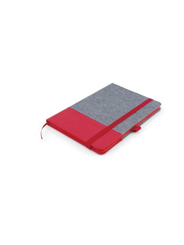 Cuaderno Libreta Bonjour Tapa Dura A5 - Rojo