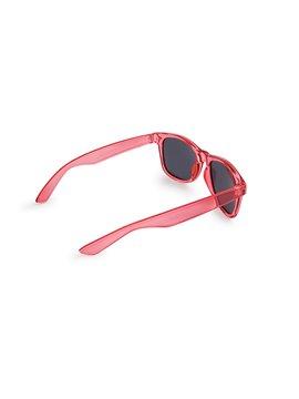 Gafas Lentes de Sol Look Acabado Translucido Filtro UV - Rojo