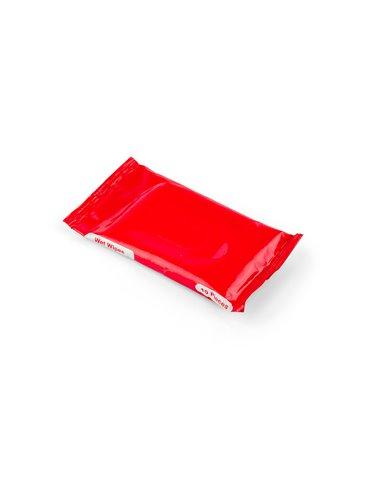 Toalla Humeda Gloria 10pcs en Sachet Plastico - Rojo