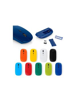 Mouse Inalambrico Neo Version 2.0 Funcion DPI - Azul Rey