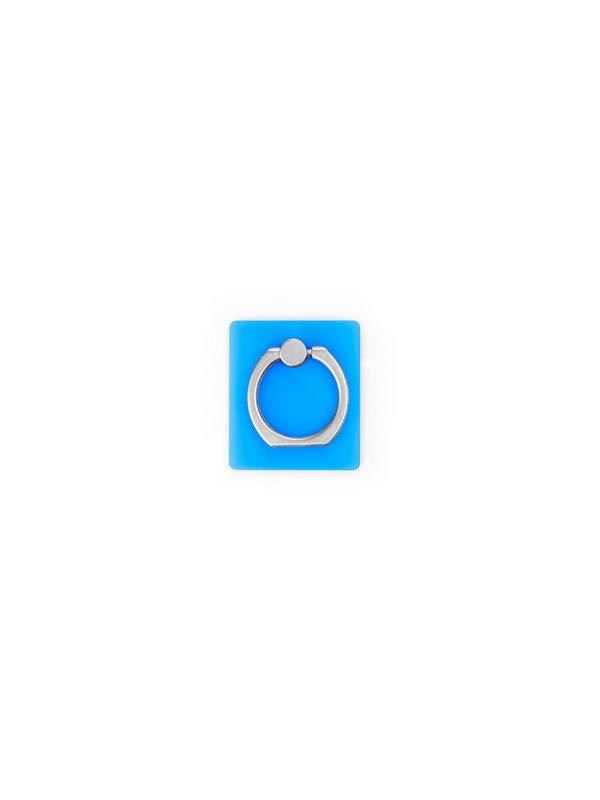 Holder Soporte para Celular Ring Coral - Azul Claro