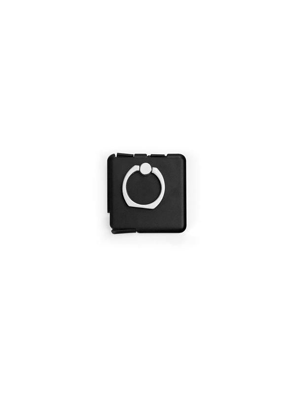 Holder Soporte para Celular Anillo Exotic y Conector - Negro