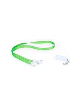 Cable de Carga Diagrama 3 en 1 Cinta para Colgar - Verde