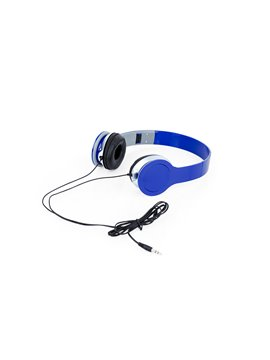 Audifonos Relax Tipo Diadema Conector 3.5 mm - Azul