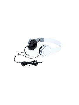 Audifonos Relax Tipo Diadema Conector 3.5 mm - Blanco