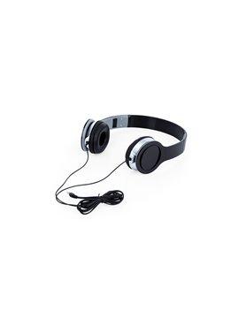 Audifonos Relax Tipo Diadema Conector 3.5 mm - Negro