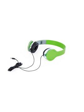 Audifonos Relax Tipo Diadema Conector 3.5 mm - Verde