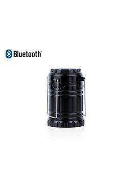 Altavoz Parlante Bluetooth con Linterna Camping - Negro