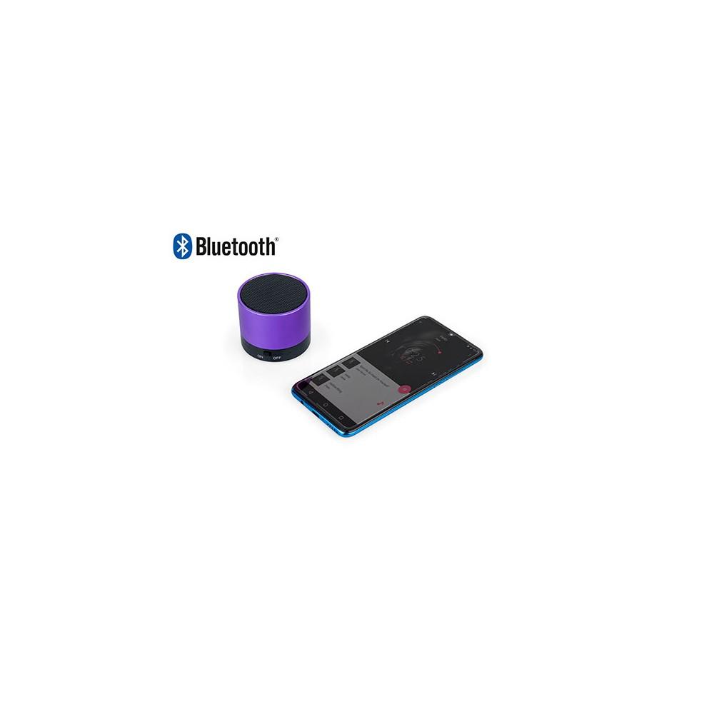 Altavoz Parlante Bluetooth Feast Alumin - Morado