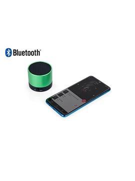 Altavoz Parlante Bluetooth Feast Alumin - Verde