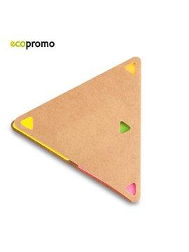 Set de Notas Adhesivas Sticky Set Triangulo - Natural