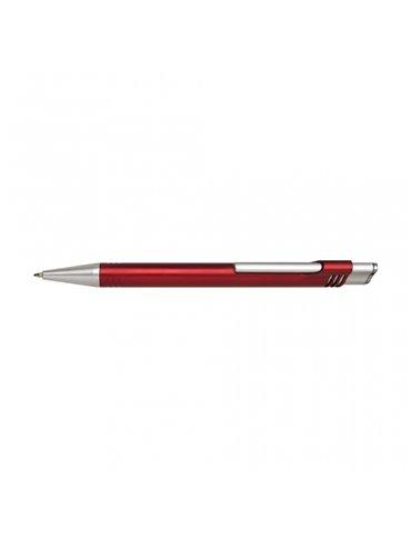 Esfero Boligrafo Monaco Plastico Metalizado - Rojo