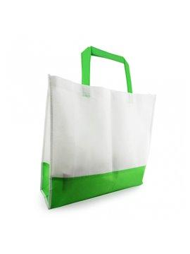 Bolsa de compra bicolor en Cambrel Ecologica - Verde