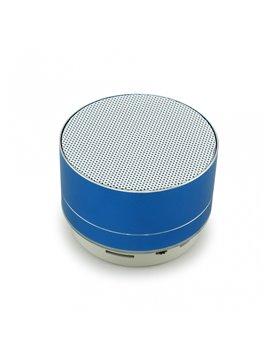 Altavoz Parlante Bluetooth Mini Cilindro - Azul