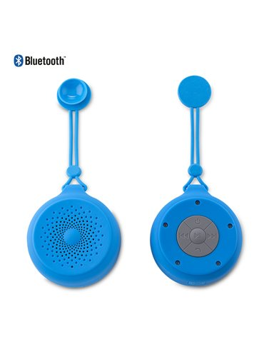 Speaker Bluetooth Splash 3W Chupa Tecnologia IPX4 - Azul
