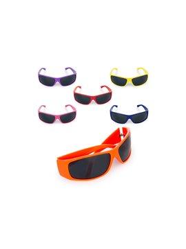 Gafas Sol Long Bay Filtro UV Amplio Espectro de Cubrimiento - Naranja