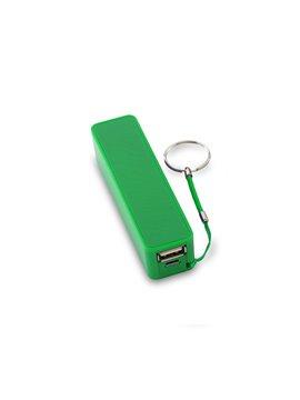 Pila Bateria Externa HIT II Capacidad de 2200 mAh USB - Verde