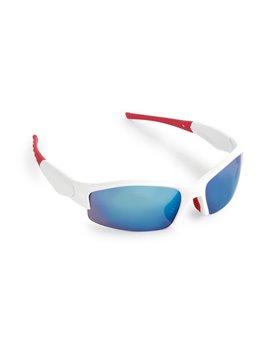 Gafas Tarpum Lentes de Sol con Marco Blanco Flitro UV - Rojo
