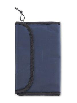 Portatarjetas Portadocumentos Pascal en Nylon - Azul Royal