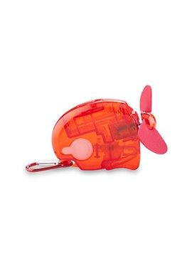 Ventilador con Spray en Plastico - Rojo