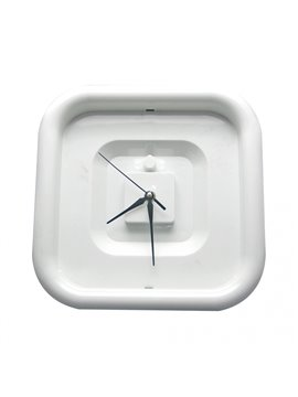 Reloj Pared Cuadrado Feel - Blanco