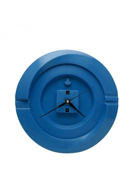 Reloj Pared Redondo Cloud - Azul