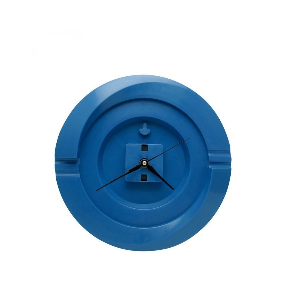 Reloj Pared Redondo Cloud - Azul