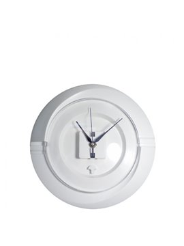 Reloj Pared Redondo Cloud - Blanco