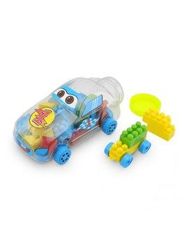 Vehiculo Mini Carro Didactico en Plastico Fichas - Transparente