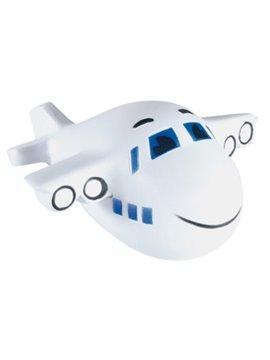 Avion Antiestres Desestresante en Poliuretano - Blanco