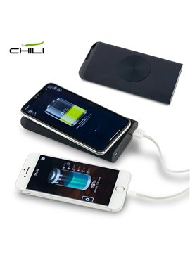 Pila Recargable Wireless Chili 8000 Mah - Negro