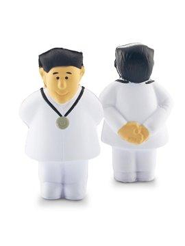 Dispositivo Antiestres Doctor En Poliuretano - Blanco