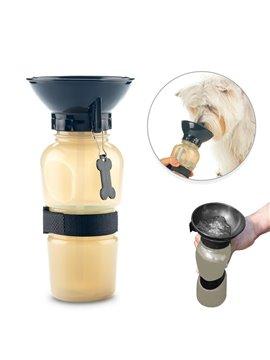 Botella Botilito Para Mascotas 580ml - Negro