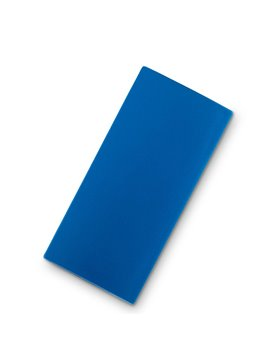 Mini Espejo Rectangulas Doble Steffi Con Aumento - Azul