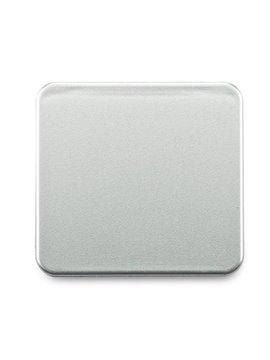Espejo Cuadrado Doble Tod Con espejo de Aumento - Plateado