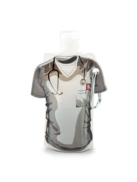 Gel Antibacterial Doctor 60ml Plastico Carabinero - Blanco Doctor