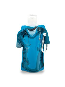 Gel Antibacterial Doctor 60ml Plastico Carabinero - Azul Cirujano