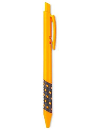 Esfero Boligrafo Plastico Garret Neon - Naranja