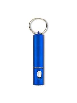 Llavero Linterna Bay Plastica con Argolla - Azul