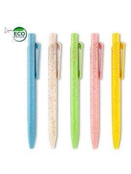 Esfero Boligrafo Plastico Kirk Eco Fibra de Trigo - Natural