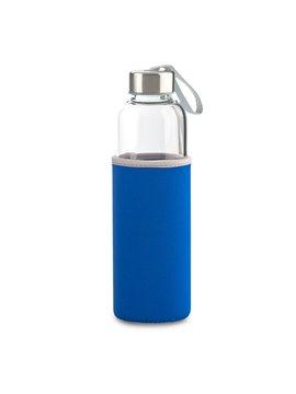 Botella Botilito En Vidrio Neoprene 530ml - Azul