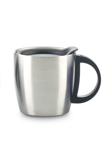 Mug Metalico Savoy 350ml Doble Pared - Plateado