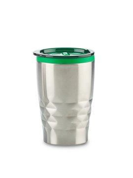 Mug Metalico Blast 330ml Con tapa e Interior Plastico - Verde