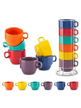 Set De Mugs Ceramica Kolors 6 Tazas de 8 OZ - Surtido