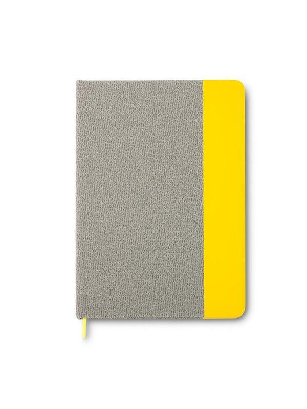 Cuaderno Libreta British Con Cubierta en Poliuretano - Amarillo