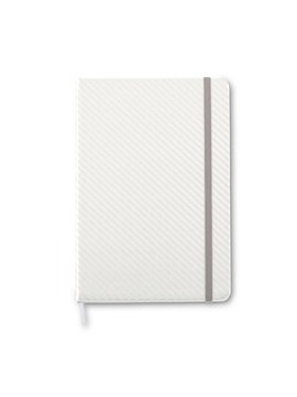Cuaderno Libreta Kravitz Fibra de Carbono - Plateado