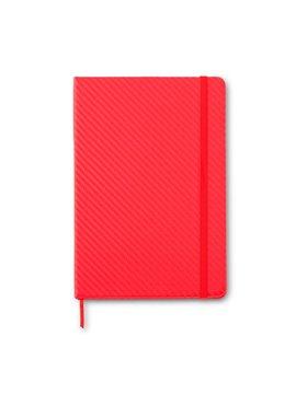 Cuaderno Libreta Kravitz Fibra de Carbono - Rojo