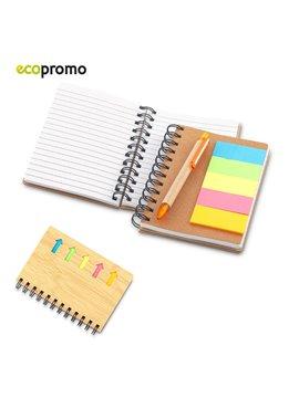 Cuaderno Libreta Bambu Arrow Incluye Stickies - Bamboo